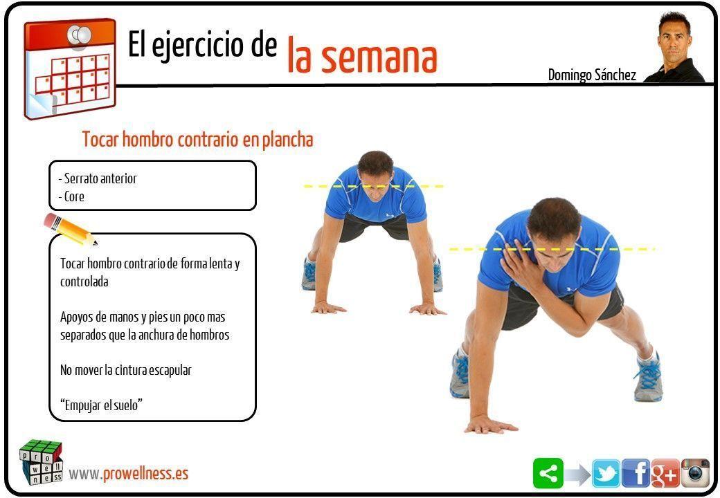 ejercicio semana 38 tocar hombro