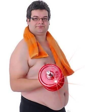 gordito pesas