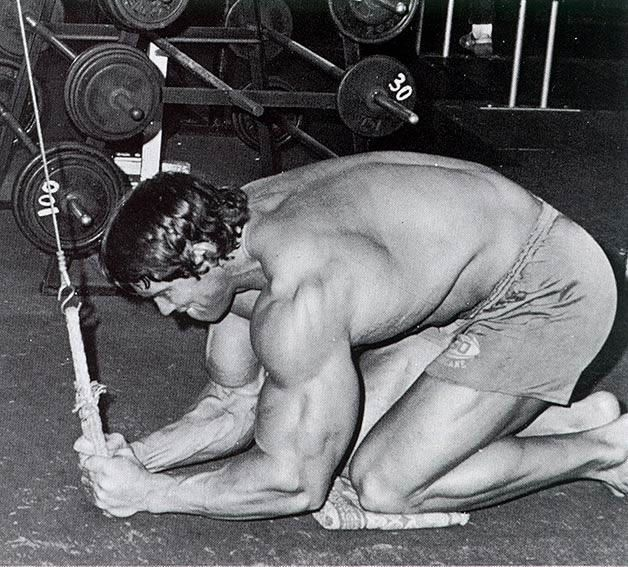 cable-crunch Arnold-bodybuilding-abs