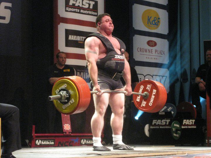 powerlifter obeso