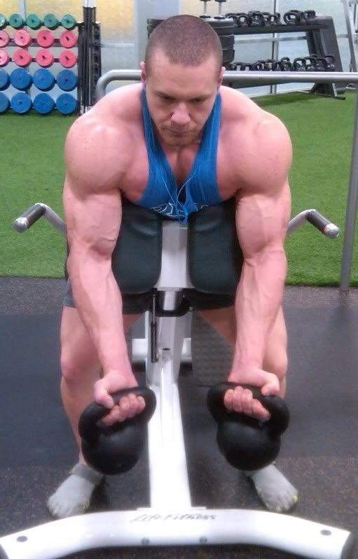 kettlebell biceps