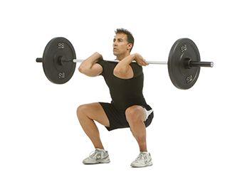 front squat barra