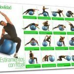 Estiramiento con Fitnessball