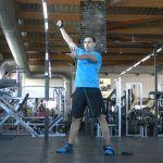 3 ejercicios de hombro con máxima implicación