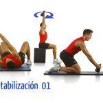Core con kettlebell; estabilización I