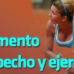 Aumento de pecho y ejercicio