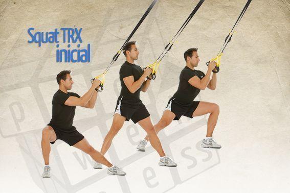 squat TRX inicial
