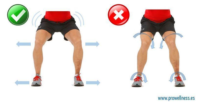 squat rodillas