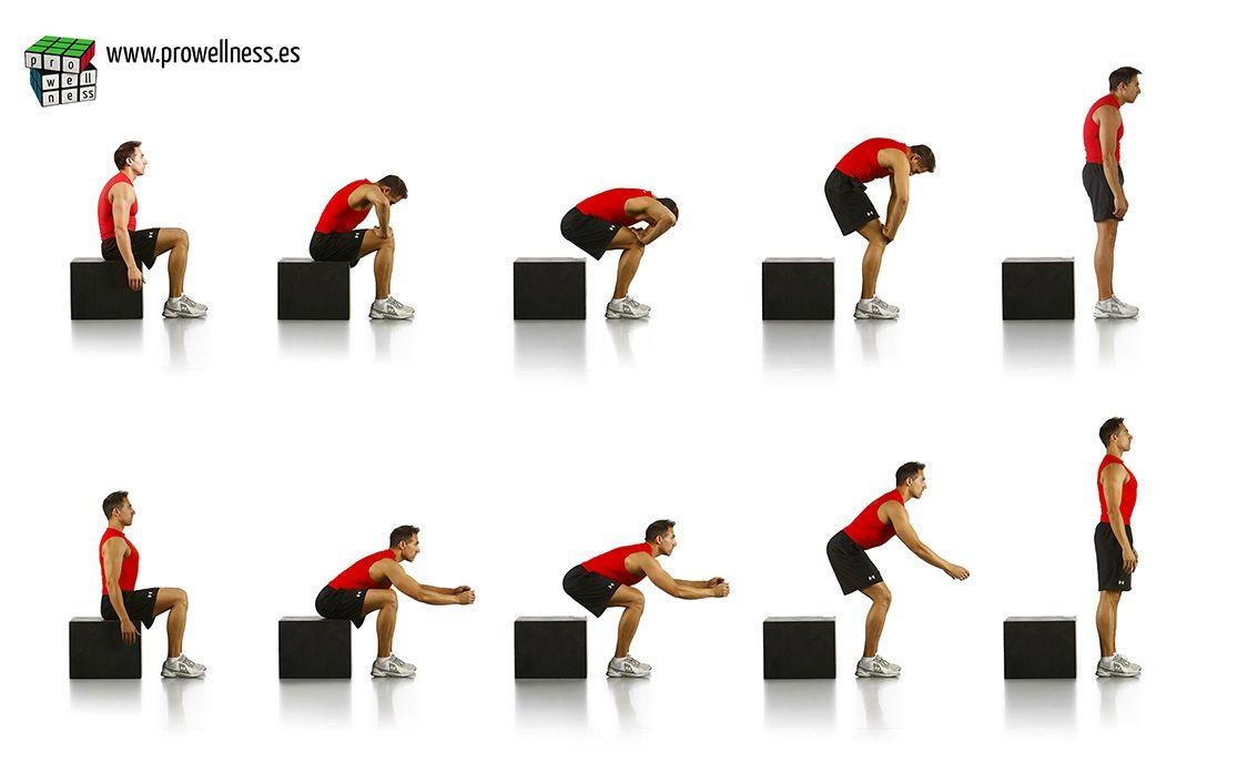 levantarse silla postura espalda