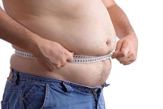 Abdominales tripa obeso