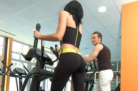 gimnasio entrenar
