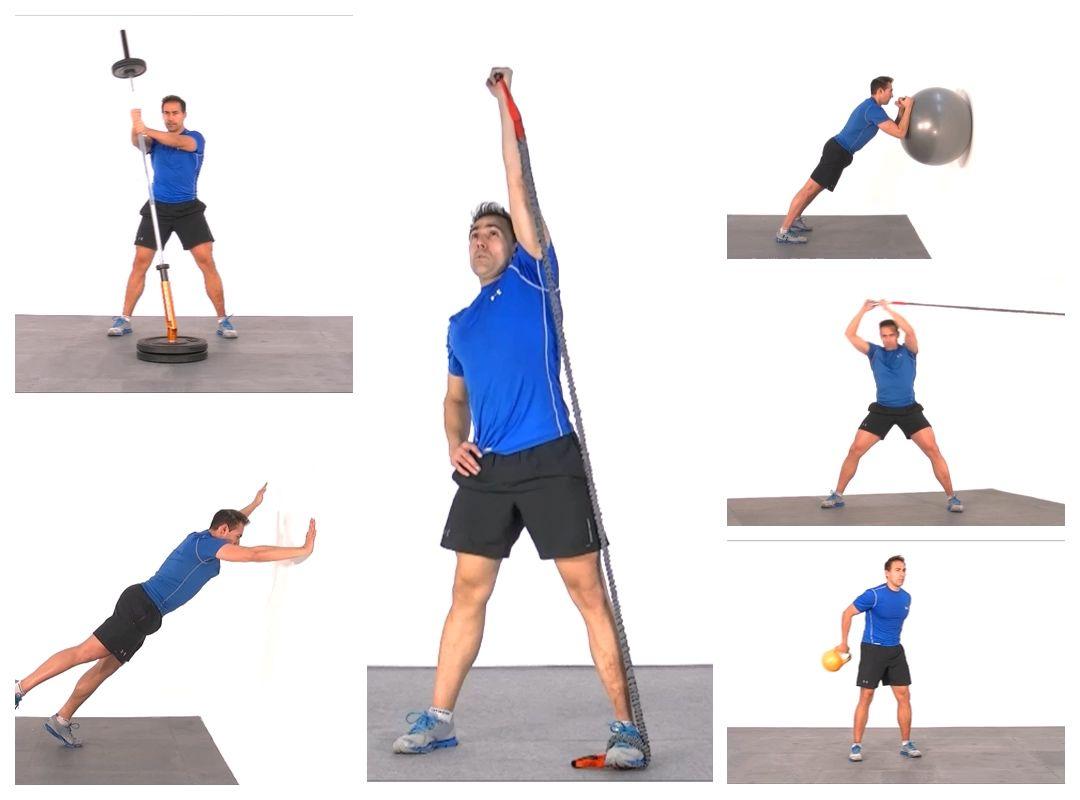 15 ejercicios de core en vertical