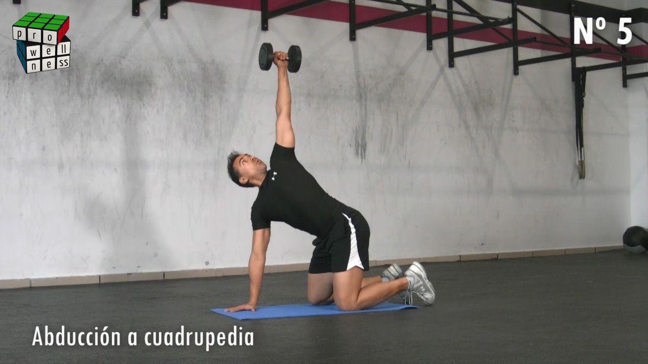 5 ejercicios de hombro sin riesgo