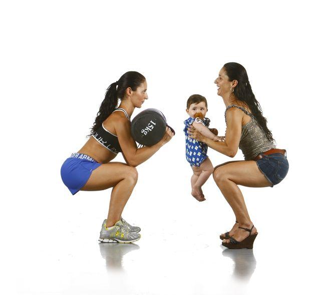 La vida es un front squat