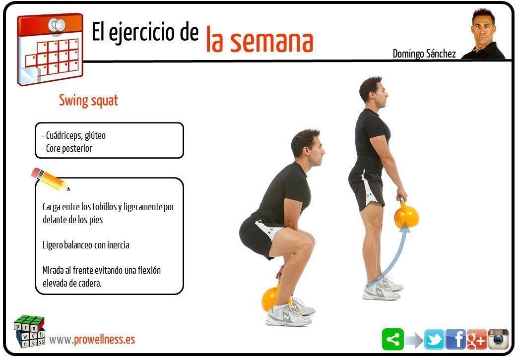Esta semana; Swing squat