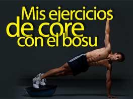 Mis ejercicios de core con el bosu