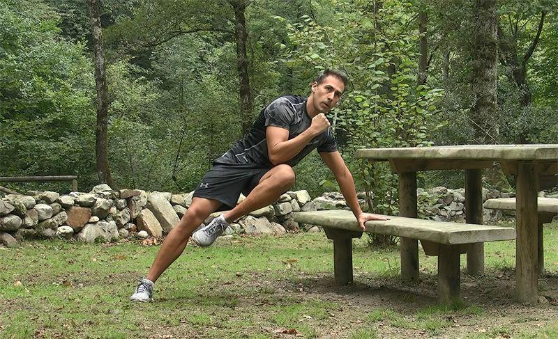 Quemar calorías outdoor
