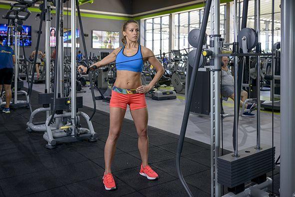 Tres ejercicios de tríceps que nadie hace
